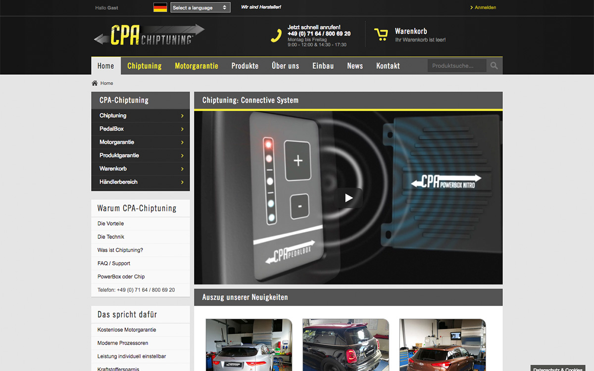 CPA Chiptuning - Online Shop